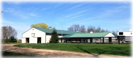 Magic Meadow Stable view